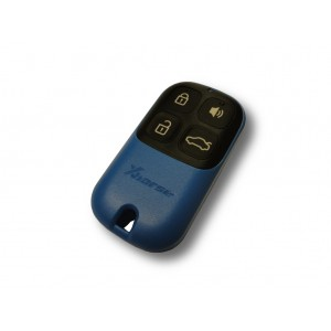 BLUE GARAGE REMOTE WITH 4...